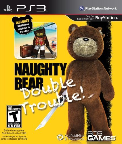 Naughty Bear - Double Trouble - Playstation 3 by 505 Games