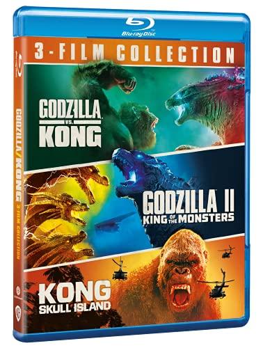 Monsterverse – 3 Film Collection (include la novità Godzilla vs Kong) Blu ray