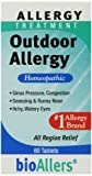 Relieves allergy symptoms Natural homeopathic medicine Made in the USA