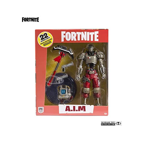Figurine - Fortnite - A.I.M Action Figure - 18 cm [Importación francesa] 6