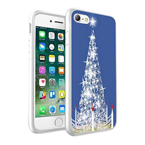 CHRISTMAS Design nadrukowane na zamówienie czarne twarde etui na telefon komórkowy do Samsung Galaxy A8 2018 (128)