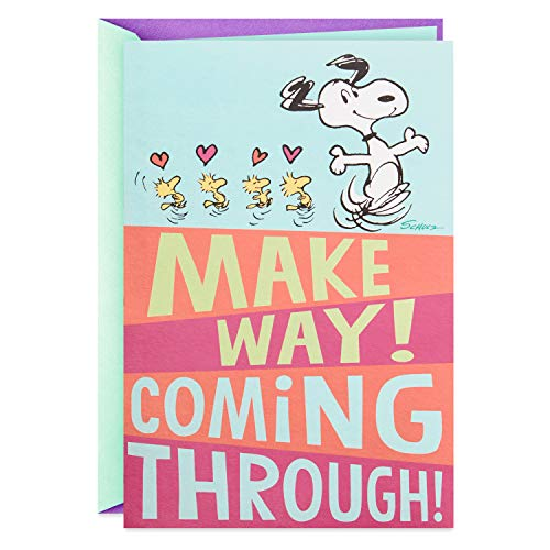 Hallmark Pop Up Peanuts Mothers Day Card or Birthday Card for Mom (Snoopy, Hugs and Kisses for You)