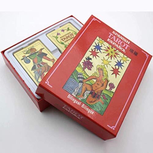 JJSFJH Lectura de Tarot Libro de Cartas de Tarot Real y Waite for Rider Significados y Extensiones Simples de Tarot Tarot for Principiantes Una guía for psíquicos
