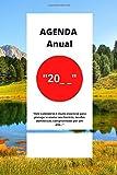 Agenda anual: Este diário anual é muito essencial para planejar e anotar seu horário, tarefas domésticas, compromissos por um ano ...