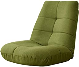 Office Chairs Lazy Lounge Sofa Green Adjustable Backrest Foldable Floor Chair Tatami Soft Cushion Single Sleeper Reading f...