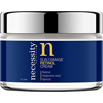 Necessity Skincare Retinol Sun Damage Cream for Face, 2 Fluid Ounce