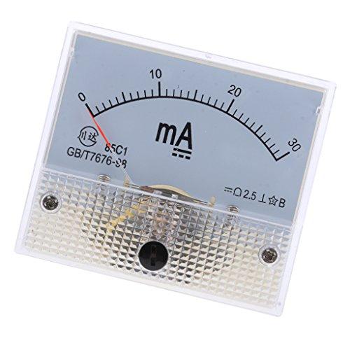 Analog Panel Meter DC AMP Amperemeter - 0-30mA