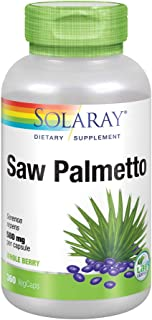 Solaray Saw Palmetto Berry 580mg| 360 VegCaps