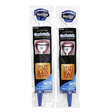 Orabrush Ultra Soft Bristles Tongue Cleaners, 2 Count