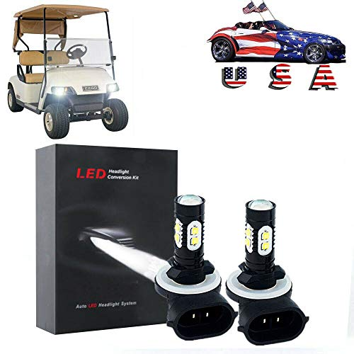 golf cart led headlights