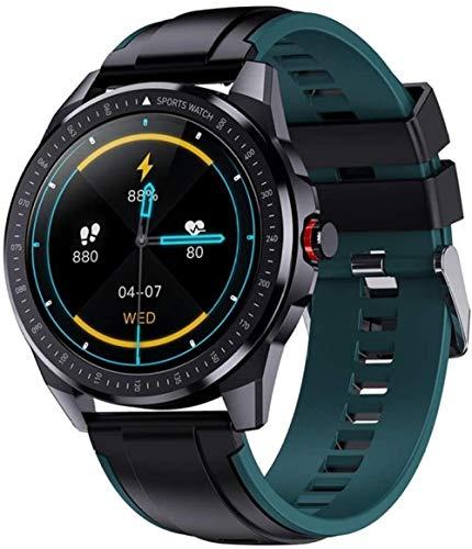 Reloj inteligente para hombre de 1.3 pulgadas Ip68 resistente al agua con monitor de ritmo cardíaco y rastreador de fitness para Android iOS uso diario