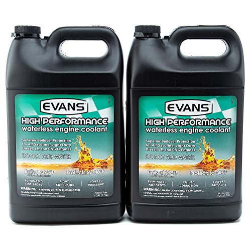 EVANS Coolant EC53001 High Performance Waterless Coolant (Pack of 2)