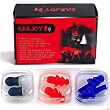 Noise Cancelling Ear Plugs by EarJoy - for Swimming Sleeping...