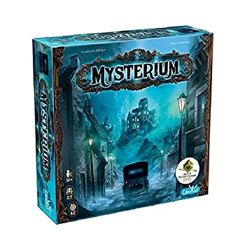Mysterium Board Game  Base Game  | Mystery Board Game | Cooperative Game for Adults and Kids | Fun for Family Game Night | Ages 10 and up | 2-7 Players | Average Playtime 45 Minutes | Made by Libellud