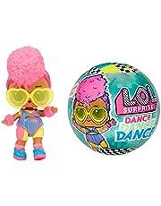 LOL Surprise Dolls Dance Dance Dance 8 Sorpresas, Ropa de Marca y Accesorios de Moda - Incluye Pista de Baile Giratoria y Tarjeta de Baile, Muñecas Coleccionables para Niñas a Partir de 3 Años