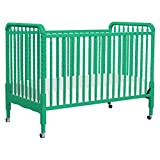 DaVinci Jenny Lind 3-in-1 Convertible Crib in Emerald - 4 Adjustable Mattress Positions, Greenguard Gold Certified