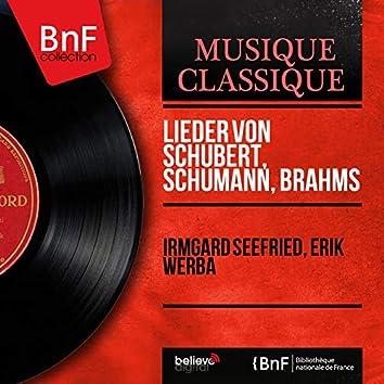 Lieder von Schubert, Schumann, Brahms (Stereo Version)