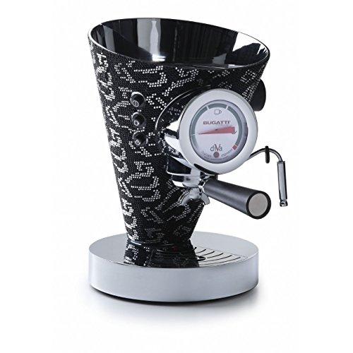 Bugatti Diva - Espressomachine 14000 Silver & Black Crystals