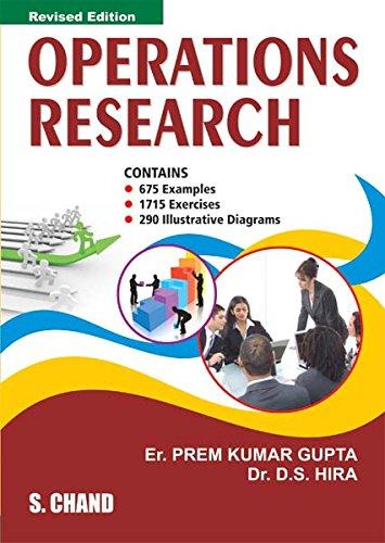 Operations Research [Nov 01, 2007] Gupta, Prem Kumar