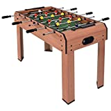 "37"" Indoor Arcade Game Foosball Table for Recreation Living Room Winter Summer All Seasons! (Blue, 37)"