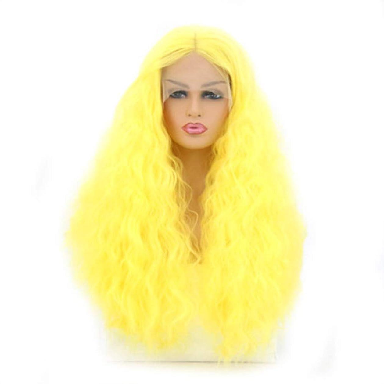 発見する食用政治ZXF かつら女性のフロントレース長い巻き毛のかつらセット仮装ドレスかつら 美しい
