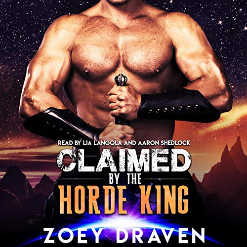 Claimed by the Horde King audiobook cover art