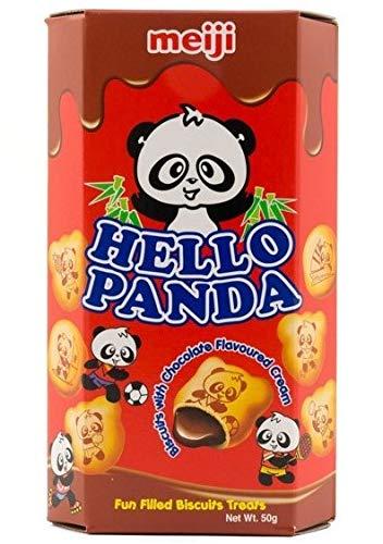 Meiji Hello Panda-Schokolade Kekse 50gm