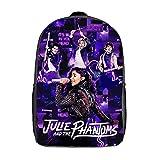 Julie And Phantoms Backpack Phantoms Bag Bookbag Daypack travelling Laptop School Bag 17in