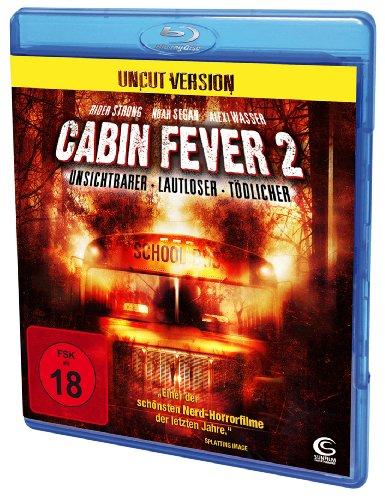 Cabin Fever 2 (Uncut) [Blu-ray] [Alemania]