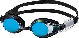 SWANS(スワンズ) 日本製 スイミングゴーグル SJ-24M 子供用 6歳~12歳 ミラータイプ UVカット ネームプレート付き