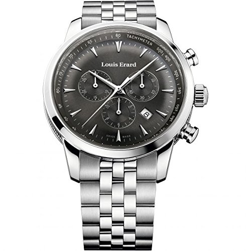 Para hombre Louis ERARD patrimonio Cronógrafo Reloj 13900AA03. BMA38