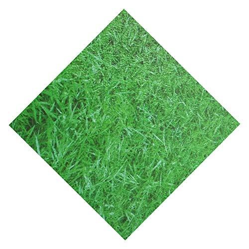 MAHFEI-tapis puzzle en mousse Parc D'attractions Salle De Jeux Salon Bébé Rampant Doux Tampon Antidérapant Facile À Nettoyer PE Pelouse Verte (Color : Green, Size : 8PCS)