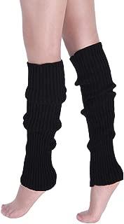 Paire Femme Chaussette Tricot Long Jambière Protection Jambe Guêtre Couvre Botte