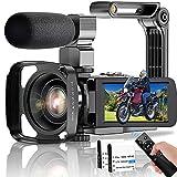 Video Camera Camcorder, UHD 4K...