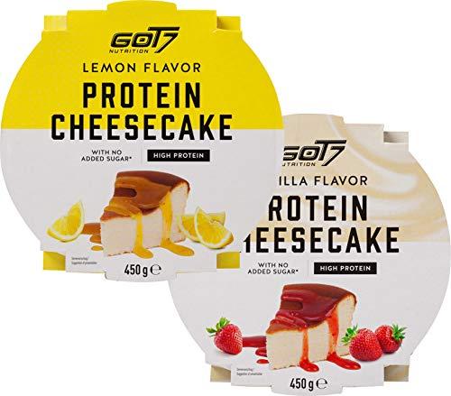 Got7 - High Protein Cheesecake - Proteinreich und kalorienarm - 2er Pack - 900g (Flavor Mix)