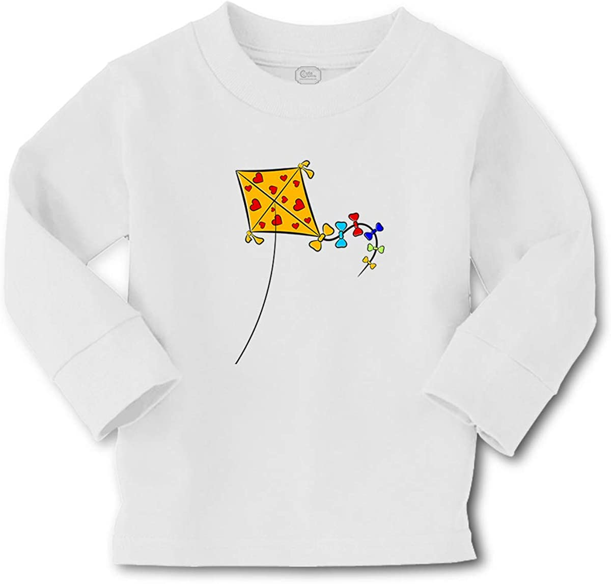 Cute Rascals Kids Long Sleeve T Shirt Kite Cotton Boy & Girl Clothes Funny Graphic Tee