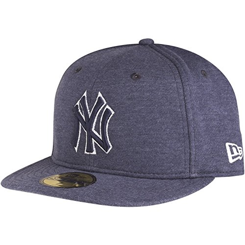 New era New York Yankees 59fifty Basecap Jersey Top Navy - 7 1/2-60cm