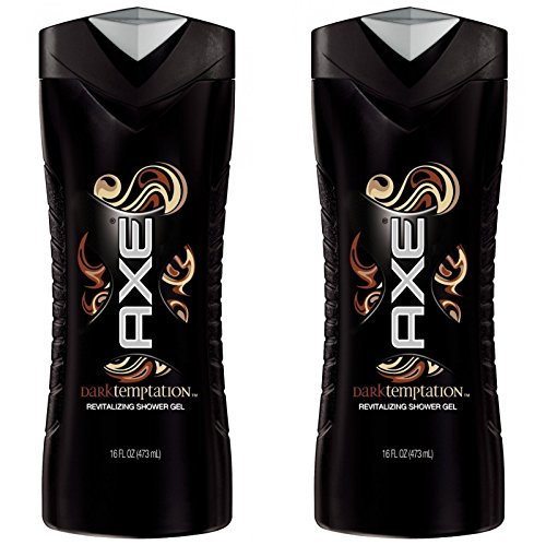 Axe Shower Gel, Dark Temptation 16 oz (Pack of 2)