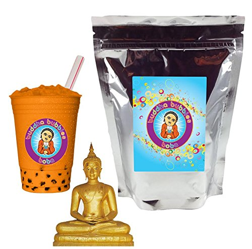 Thai Boba / Bubble Tea Drink Mix Powder By Buddha Bubbles Boba 10 Ounces (283 Grams)