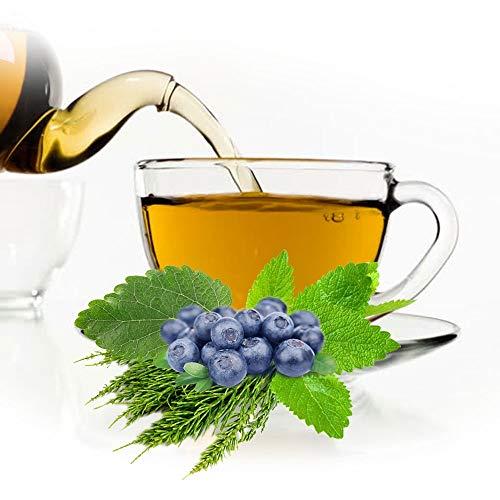 Krauter Tee Sommer Morgen, natürlicher aromatischer Kräutertee