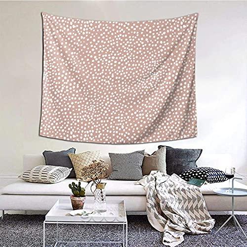 Tapiz para colgar en la pared, diseño de lunares de guepardo salvaje con estampado de animales, para decoración del hogar, de 156 x 150 cm