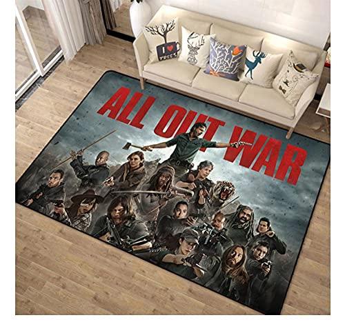 YOUXIUHAO Alfombra The Walking Dead Non Slip Carpet Computer Chair Floor Mat Bedroom Bedside Rug Gaming Room Home Decor 160X230 Cm