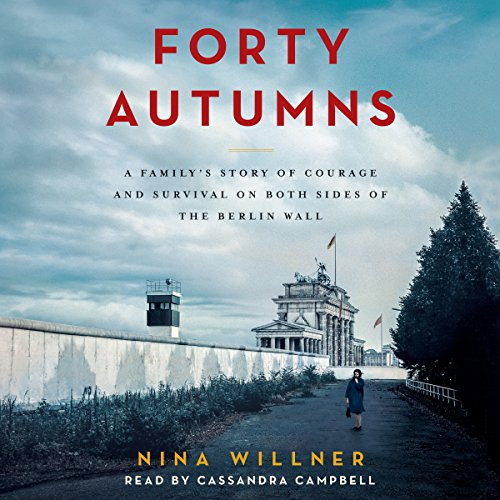 Forty Autumns audiobook cover art