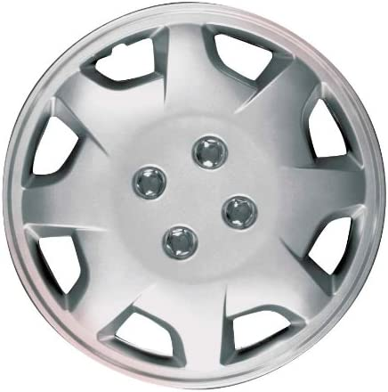 CCI All stores gift are sold IWC124-13S 13 Inch Clip On Silver of Finish Pack - Hubcaps 4