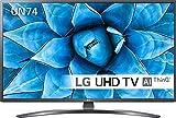 TV LED 50' LG 4K 55UN74003 SMART TV EUROPA BLACK