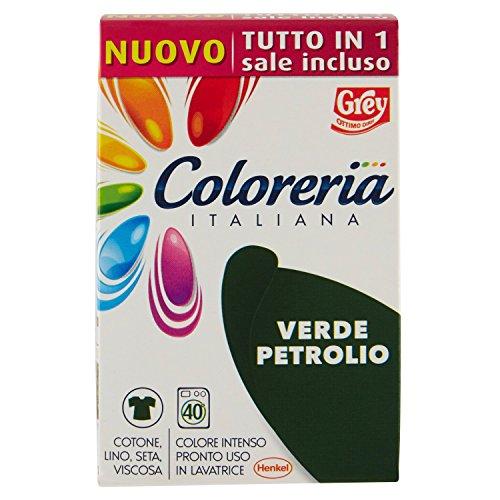 Coloreria Italiana, Colore intenso Verde Petrolio, 350 gr