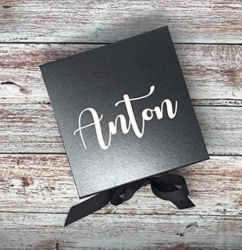 personalisierte Geschenkbox für euren Bräutigam, Trauzeugen, Brautvater - M2