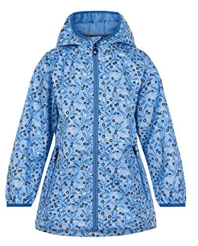 Color Kids Girls Softshell Flower Shell Jacket, Powder Blue, 152