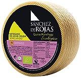 Sánchez de Rojas | Queso Manchego Semicurado Ecológico y Artesano | 2kg | Queso de Oveja con Leche Cruda | Denominación de Origen Protegida | Sabor Suave |
