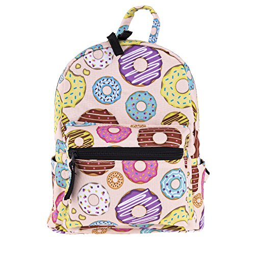 3D cute mini pack bag for girls children pink Backpack 10-inch
